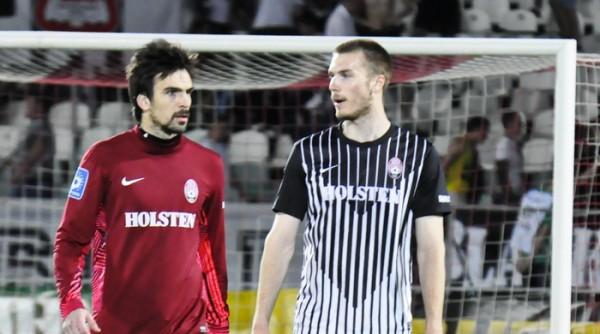 Тони Шунич (справа) вызван в сборную