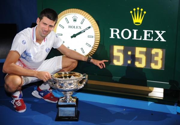 5 часов 53 минуты - именно столько Джокович играл против Надаля в финале Australian Open