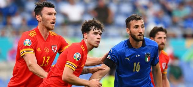 Италия минимально обыграла Уэльс