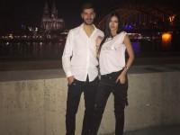 Экс-игрок Динамо с любимой посетил бой Кличко - Джошуа