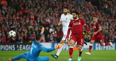 Видео фантастического гола Салаха в ворота Ромы в Лиге чемпионов