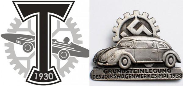 А вот и нацистская эмблема, с которой полицейские и нашли сходство эмблемы Торпедо