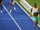 Украинка Юлия Кревсун бежит второй, однако на финише ее оттеснят кенийка и британка. Может, они тоже не совсем женщины?