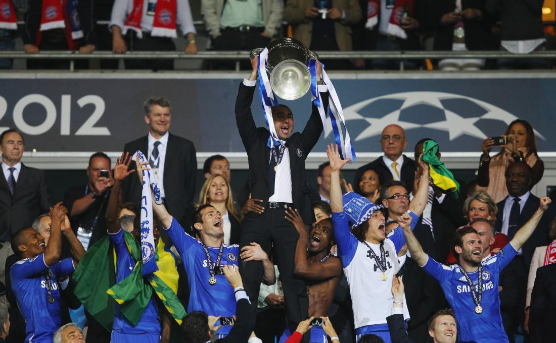 Челси - победитель Лиги чемпионов 2012