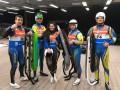Украинские саночники завоевали пять лицензий на Олимпиаду