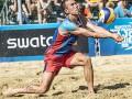 Полузащитник Интера дебютировал в пляжном волейболе