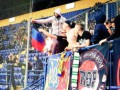 Фанаты Шахтера сожгли на трибунах флаг ДНР