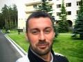 Милевский попал в аварию на такси