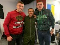 Украинские чемпионы Усик, Ломаченко и Гвоздик сходили в гости к Тедди Атласу