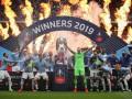 Манчестер Сити - первый клуб, завоевавший домашний требл в Англии