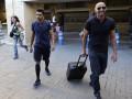 Защитник Динамо прибыл на медосмотр в Севилью (фото)