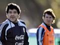 Диего Марадона посоветовал Месси не слушать идиотов