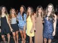 Жены и девушки футболистов Барселоны пришли на показ свадебных платьев (видео, фото)