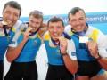 Украинцы с мировым рекордом выиграли на ЧМ по академической гребле