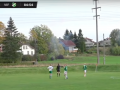 Норвежский футболист устроил фейерверк, пробив по линии электропередач