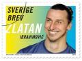 Почта Швеции выпустила марки в честь Златана Ибрагимовича