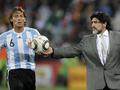 Фотогалерея: Экзамен для Марадоны. Аргентина побеждает Нигерию