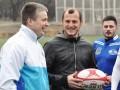 Футболист Днепра помог украинским регбистам