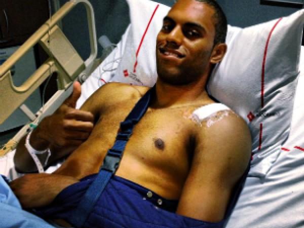 Дуглас в Бразилии перенес операцию