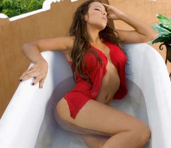 Андреа Салас - жена голкипера сборной Коста-Рики Кейлора Наваса