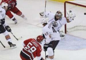 NHL: Каролина поиздевалась над Эдмонтоном