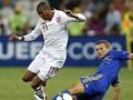 Основной полузащитник сборной Англии рискует пропустить четвертьфинал Евро-2012