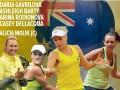Украина и Австралия объявили составы на матч Кубка Федерации