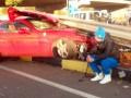 Пьяный Милевский попал в страшную аварию на своем Ferrari (ФОТО, ВИДЕО)