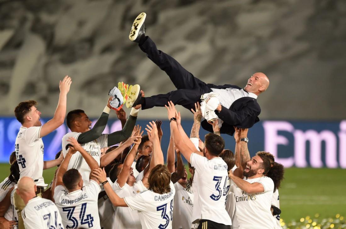 Реал празднует чемпионство