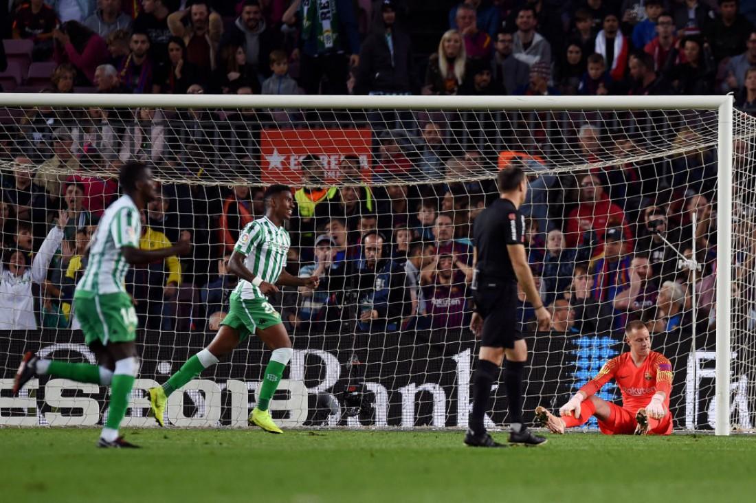Барселона - Бетис: видео голов и обзор матча