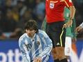 Аргентинцы забили Мексике гол из явного офсайда