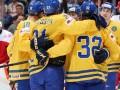 ЧМ по хоккею: Швеция классом обыгрывает Данию