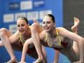 Украинки выиграли четвертую медаль на ЧЕ по артистическому плаванию