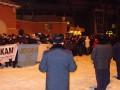 Кровь и избиение журналистов: В Харькове прошел митинг в поддержку Павличенко