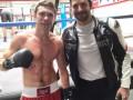 Брэдли Купер сфотографировался с украинским боксером