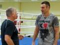 Фотогалерея: Процесс пошел. Виталий Кличко начал готовиться к бою с Дереком Чисорой