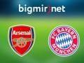 Арсенал - Бавария 1:5 трансляция матча