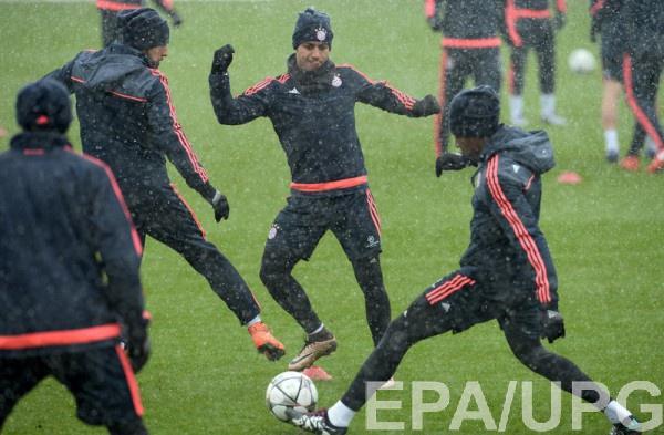 Бавария готовиться к матчу