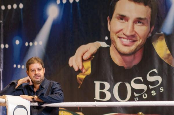 Сергей Алексеев на ринге