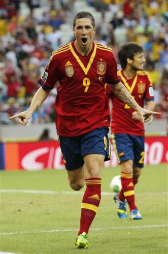 Фернандо Торрес забил очередной гол на турнире