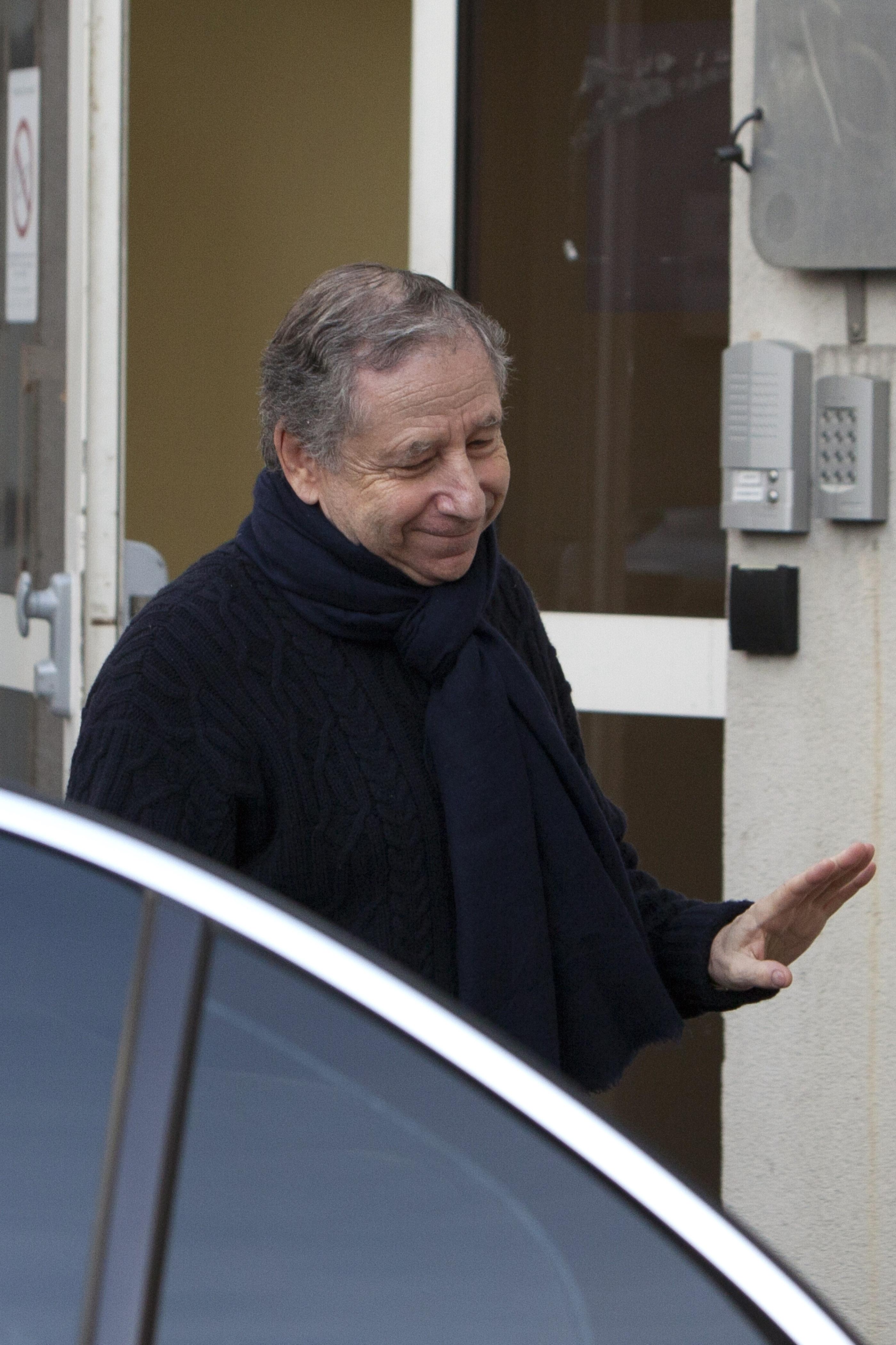 Президент Международной автомобильной федерации Жан Тодт