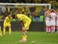 Украина прощается с Россией: фото с матча против Хорватии