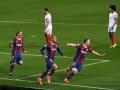 Барселона не оставила шансов Севильи в полуфинале Кубка Испании