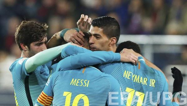 Барселона разобралась с Эйбаром