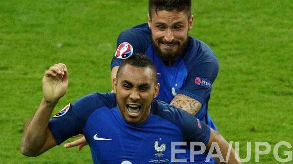 Димитри Пайе принес Франции победу над Румынией