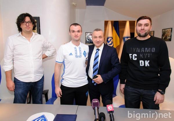 ФК «Динамо» Киев презентовал первого игрока поFIFA