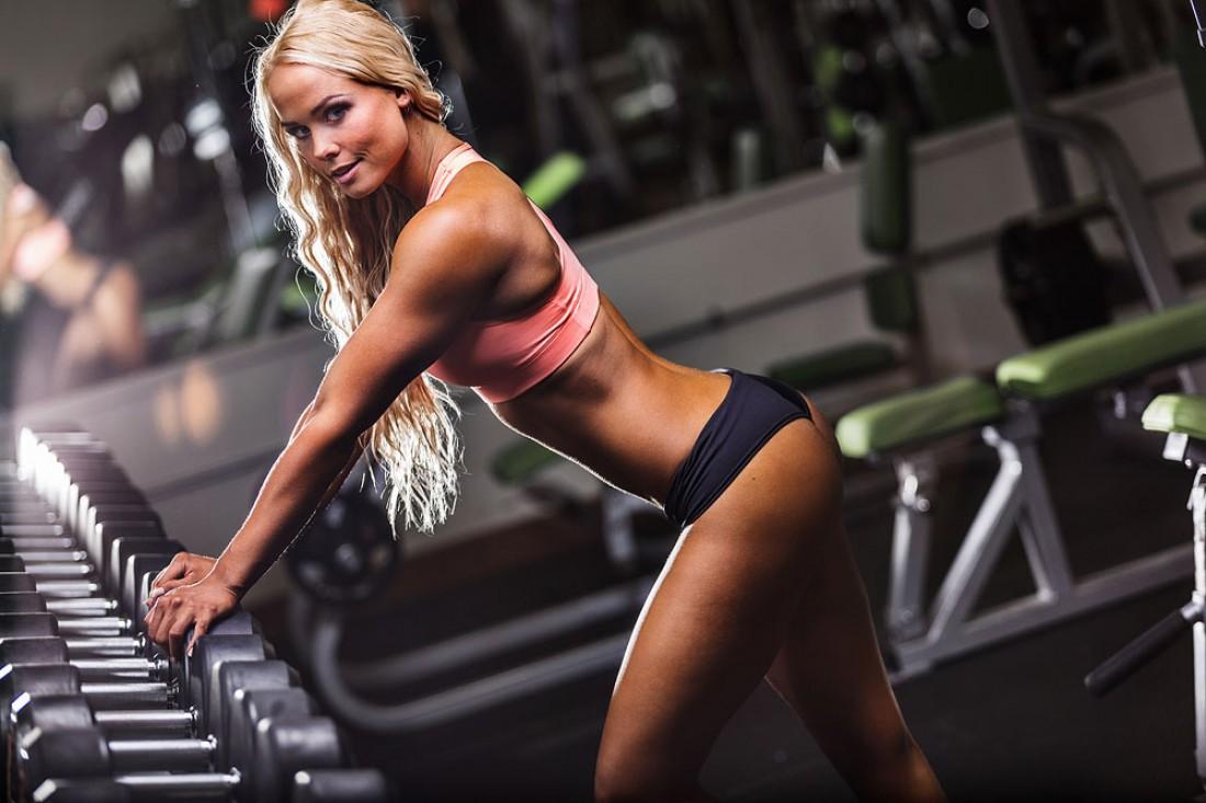 Фитнес-модель Кристбьорг Гуннарссон