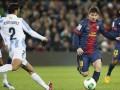 Барселона минимально побеждает Малагу
