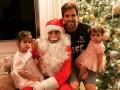 Фламини навестил семью Фабрегаса в образе Санта-Клауса