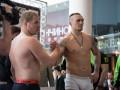 Вес взят: Как Александр Усик и Андрей Князев перед боем взвешивались